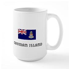 I HEART CAYMAN ISLAND FLAG Mug