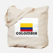 I HEART COLOMBIA FLAG Tote Bag