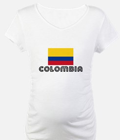 I HEART COLOMBIA FLAG Shirt