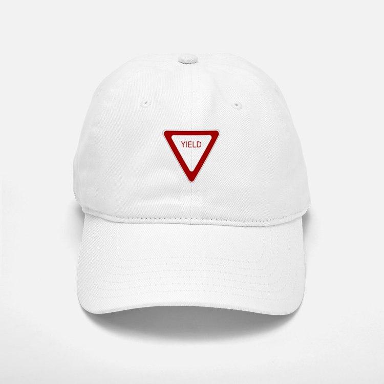 Yield Sign Baseball Baseball Baseball Cap