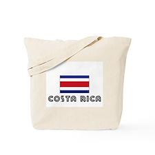 I HEART costa rica FLAG Tote Bag