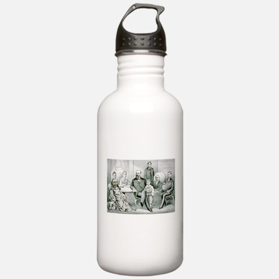 The Garfield family - 1882 Water Bottle