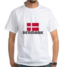 I HEART DENMARK FLAG T-Shirt