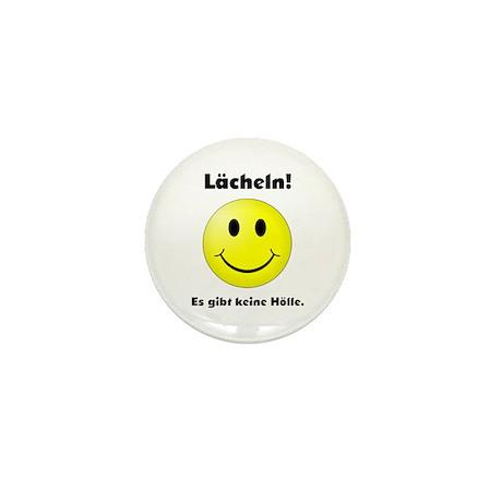 Lächeln! Es gibt keine Hölle. Mini Button (10 pack