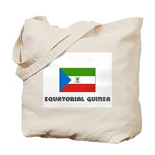 I HEART EQUATORIAL GUINEA FLAG Tote Bag