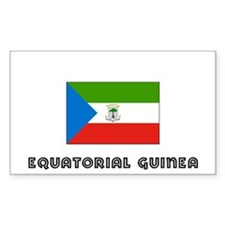 I HEART EQUATORIAL GUINEA FLAG Decal