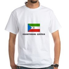 I HEART EQUATORIAL GUINEA FLAG T-Shirt