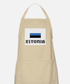 I HEART ESTONIA FLAG Apron