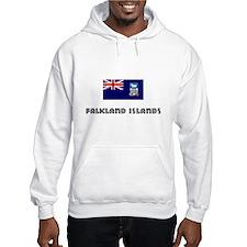 I HEART FALKLAND ISLANDS FLAG Hoodie