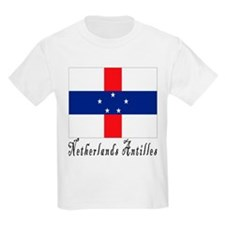 Netherlands Antilles Kids T-Shirt