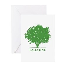 Palestine olive tree Greeting Card