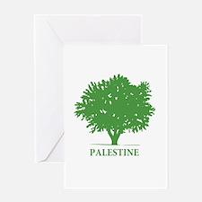 Palestine olive tree Greeting Card