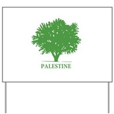 Palestine olive tree Yard Sign