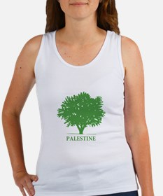 Palestine olive tree Tank Top