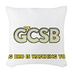 The GCSB Woven Throw Pillow