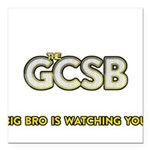 The GCSB Square Car Magnet 3