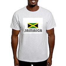 I HEART JAMAICA FLAG T-Shirt