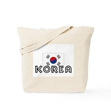 I HEART KOREA FLAG Tote Bag