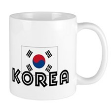 I HEART KOREA FLAG Mug