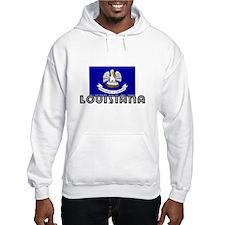 I HEART LOUISIANA FLAG Hoodie