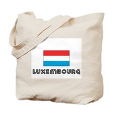 I HEART LUXEMBOURG FLAG Tote Bag