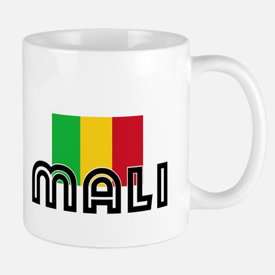 I HEART MALI FLAG Mug