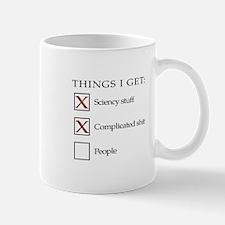 ThingsIGet1_black_print_no_bgr Small Mug