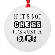 Chess Designs Ornament