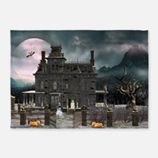 Haunted House 1 5'x7'Area Rug