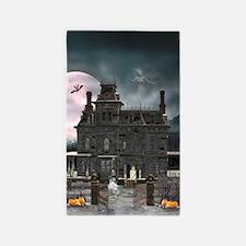 Haunted House 1 3'x5' Area Rug