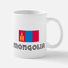 I HEART MONGOLIA FLAG Mug