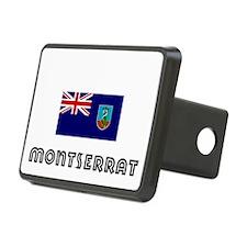 I HEART MONTSERRAT FLAG Hitch Cover