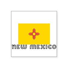 I HEART NEW MEXICO FLAG Sticker