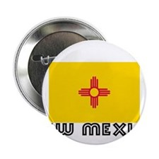 "I HEART NEW MEXICO FLAG 2.25"" Button"