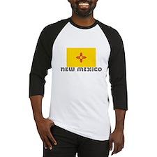 I HEART NEW MEXICO FLAG Baseball Jersey
