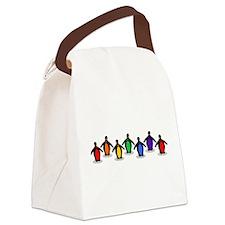 lesbianPENGUINS.gif Canvas Lunch Bag