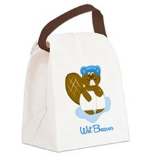 wetbeaver.png Canvas Lunch Bag