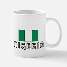 I HEART NIGERIA FLAG Mug
