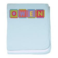 Owen Foam Squares baby blanket