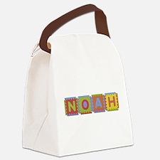 Noah Foam Squares Canvas Lunch Bag