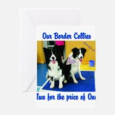 Our Border Collies, Two for the Price of One Greet