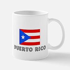 I HEART PUERTO RICO FLAG Mug