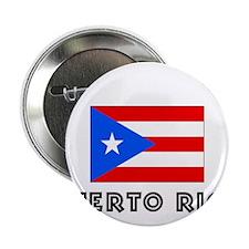 """I HEART PUERTO RICO FLAG 2.25"""" Button"""