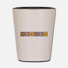 Nevaeh Foam Squares Shot Glass