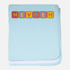 Nevaeh Foam Squares baby blanket