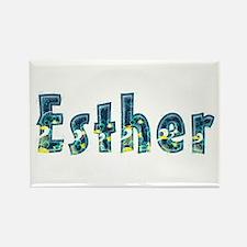 Esther Under Sea Rectangle Magnet