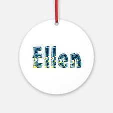 Ellen Under Sea Round Ornament