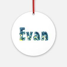 Evan Under Sea Round Ornament