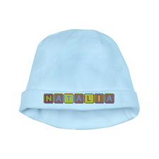 Natalia Foam Squares baby hat