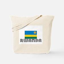 I HEART RWANDA FLAG Tote Bag